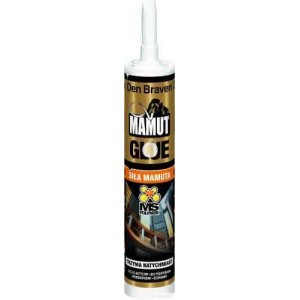 Клей-герметик Den Braven Mamut Glue 290мл белый