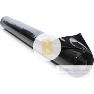 Пленка полиэтиленовая 1,5x100 м Планета Пластик 80 мк черный