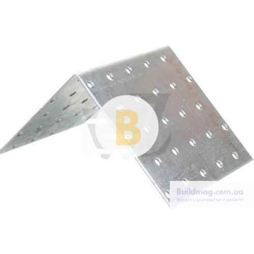 Металлический крепежный уголок равносторонний 80x80x80мм 2,5мм