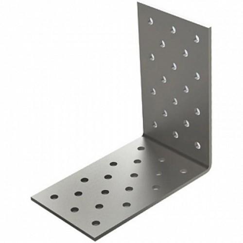 Перфорированный крепежный уголок 60x60x25мм 2мм