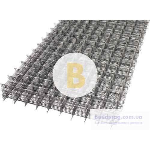 Сетка сварная кладочная 50х50x2.5 мм 1x2 м