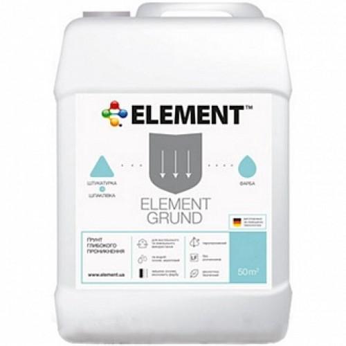 Грунтовка глубокого проникновения Element Grund 10 л