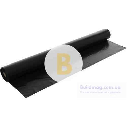 Пленка полиэтиленовая 1,5x100 м 100 мк черный