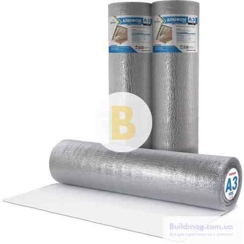 Теплоизоляция Normaizol Алюфом НПЄ А3 3 мм