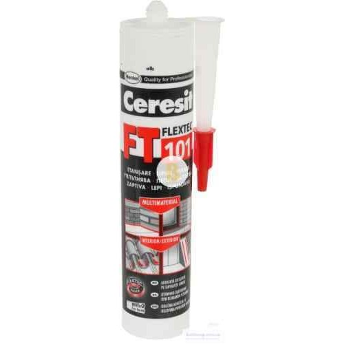 Клей-герметик Ceresit Flextec FT 101 300 мл белый