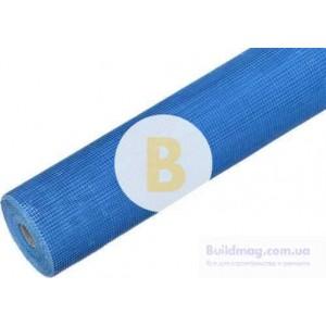 Сетка стекловолокнистая Fiberglass 145 синяя (рулон 50 м.п.)