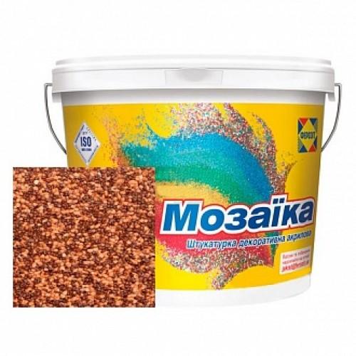 Декоративная штукатурка мозаичная Ферозит Мозаика N-236 1,6 мм 14 кг