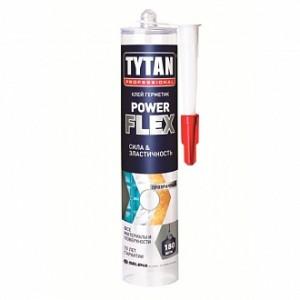 Клей-герметик TYTAN Power Flex 290 мл прозрачный