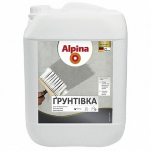 Грунтовка глубокого проникновения Alpina 10 л