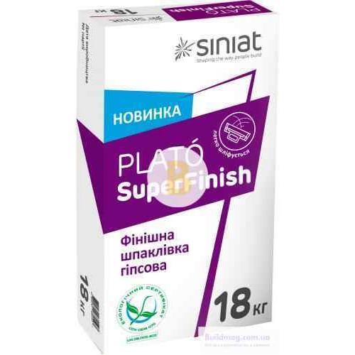 Шпаклевка Siniat Plato Super Finish 18 кг