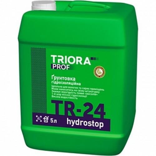 Грунтовка водоотталкивающая Triora TR-24 hуdrostop 1 л
