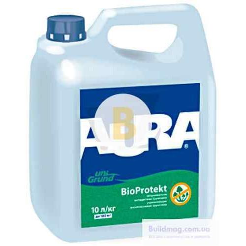 Антигрибковая грунтовка Aura Unigrund BioProtekt 10 л