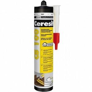 Монтажный клей Ceresit CB100 белый 400 г