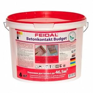 Адгезионная грунтовка Feidal Betonkontakt budget 4 кг
