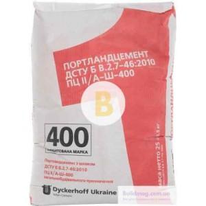 Цемент Dyckerhoff ПЦ ІІ/АШ-400 25 кг