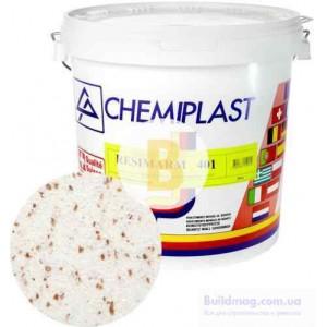 Декоративная штукатурка мозаичная Chemiplast Resimarm 401 2,5 мм 20 кг