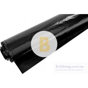 Пленка полиэтиленовая 1,5x100 м InterRais 80 мк черный