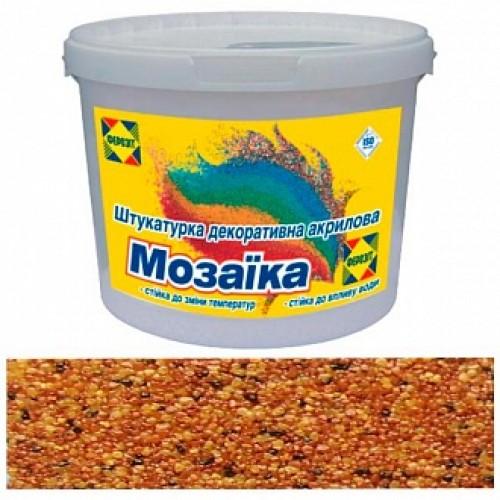 Декоративная штукатурка мозаичная Ферозит Мозаика T-131 1,6 мм 14 кг