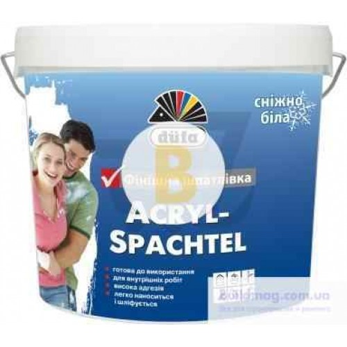 Шпаклевка Dufa Acryl-Spachtel Dufa 8 кг