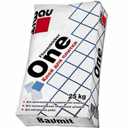 Клей для плитки Baumit One 25кг