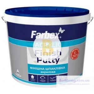 Шпаклевка Farbex финишная акриловая 5 кг белая