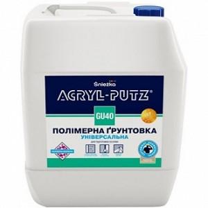 Грунтовка глубокого проникновения Sniezka Acryl-putz GU40 5 л