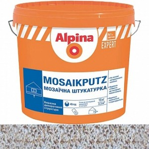 Декоративная штукатурка мозаичная Alpina Expert Mosaikputz 13 1,6-2 мм 16 кг