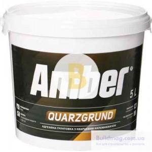 Грунтовка адгезионная Amber Quarzgrund 5 л
