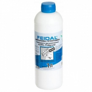 Грунтовка глубокого проникновения Feidal Acryl-Tiefgrund 1 л