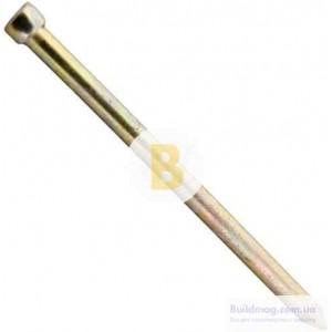 Гвозди столярные 1.2x25 мм вес желтый цинк