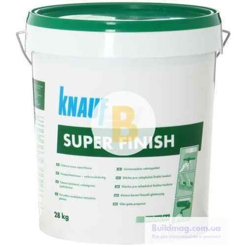 Шпаклевка Knauf SuperFinish 28 кг
