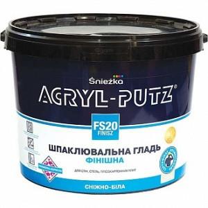 Шпаклевка Sniezka ACRYL-PUTZ 17 кг