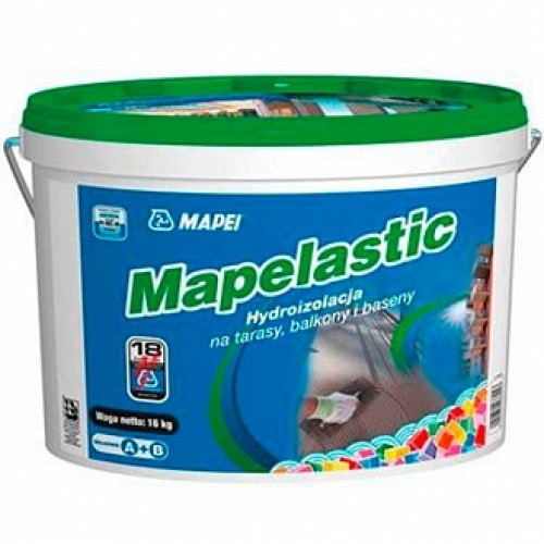 Гидроизоляция Mapei Mapelastic A+B 16 кг