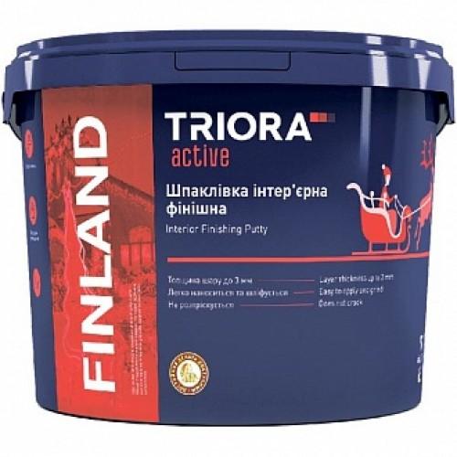 Шпаклевка Triora интерьерная финишная FINLAND 5 кг