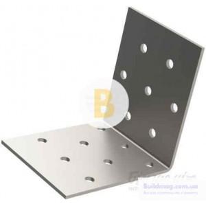 Перфорированный крепежный уголок равносторонний 60x60x40мм 2мм 6 шт.