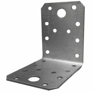 Перфорированный крепежный уголок равносторонний 50x35x50мм 1,8мм