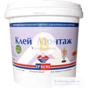 Монтажный клей ІРКОМ ИРКОМ Монтаж 1,5 кг