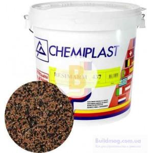Декоративная штукатурка мозаичная Chemiplast Resimarm 437 2,5 мм 20 кг