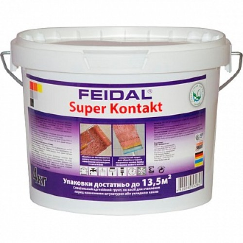 Адгезионная грунтовка Feidal Super Kontakt 1.4 кг