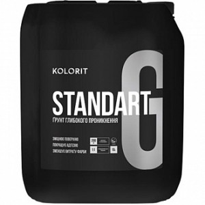 Грунтовка глубокого проникновения Kolorit Standart Grunt 10 л