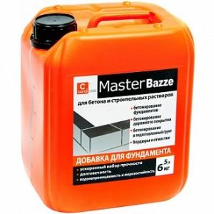 Добавка для фундамента Coral MasterBazze 5 л
