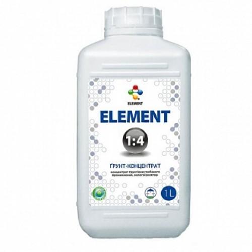 Грунтовка глубокого проникновения Element влагоизолятор концентрат 1:4 1 л