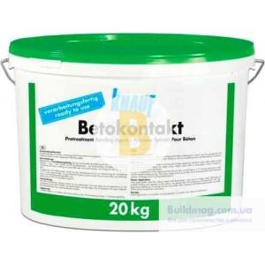 Грунтовка водоотталкивающая Knauf Бетонконтакт 20 кг