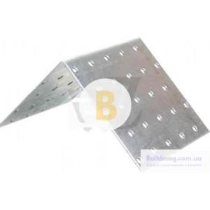 Металлический крепежный уголок равносторонний 50x50x50мм 2,5мм