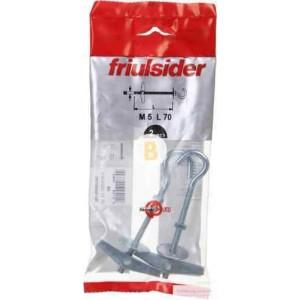 Анкер 5x70 мм 1 шт М5x70 мм Friulsider