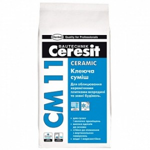 Клей для плитки Ceresit СМ 11 5кг