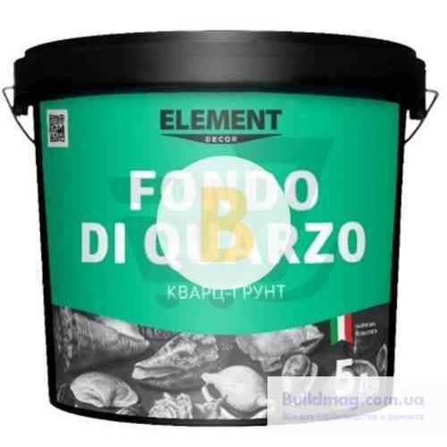 Грунт Element Decor Fondo di Quarzo адгезивный 1 л