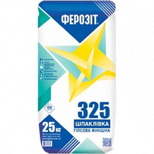 Шпаклевка Ферозит финишная белая 325 20 кг