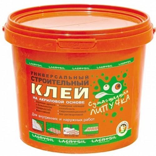 Клей монтажный универсальный Lacrysil Сумасшедшая липучка 12 кг