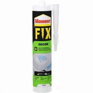 Монтажный клей Момент Момент Dekor Fix 400 г